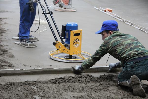 Материалы и оборудование для производства бетонных полов