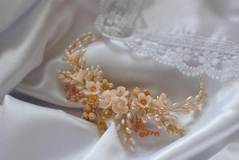 Свадебные и вечерние украшения ручной работы