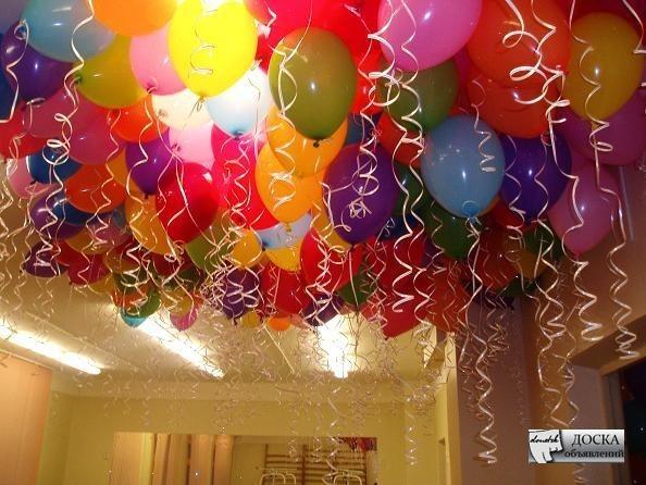 Подготовка к дню рождения