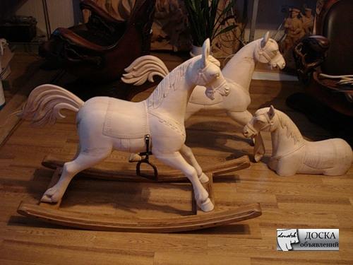 Деревянная лошадка для вашего ребенка. Украина объявление-30620