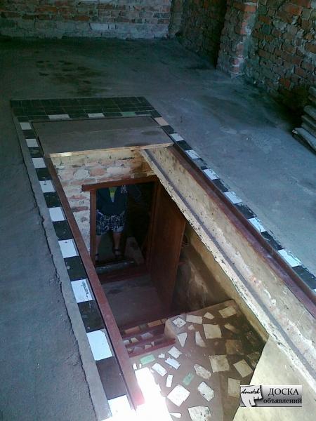 Как сделать погреб в яме гаража 83