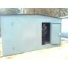гараж 3х5 металл 1. 2 мм, крыша домиком-10000грн.