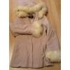 Куртка на меху (кролик) б/у