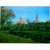 Картина  Монастырь  холст, масло, 40х60 см.  1000грн