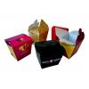 Картонная упаковка для ресторанов ФАСТ-ФУД для вермишели, роллов