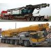 Услуги большегрузных автокранов и перевозки крупногабаритных грузов.