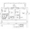 Продается 3 комнатная квартира, индивидуальная планировка