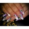 Наращивание ногтей гелем, коррекция