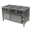 Плита шестиконфорочная с духовкой для столовой