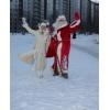 Дед Мороз и Снегурочка  в  Донецке