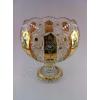 Изделия из богемского стекла с росписью золотом