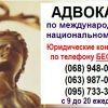 Адвокат онлайн.  Адвокат по международному и национальному праву